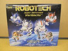ROBOTECH Super Deformed Veritechs Battloid Gift Set Clear Edition - Minor Crease