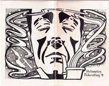 "Star Trek TOS Sherlock Homles Fanzine ""The Holmesian Federation 4, 5, 6"" GEN"