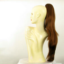 Hairpiece ponytail long 27.56 golden brown copper 5/l30 peruk