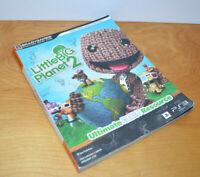 LITTLE BIG PLANET 2 Strategy Guide Book PS3 Bradygames Playstation 3 Video Game