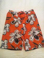 MOSSIMO BOYS HAWAIIAN TROPICAL Swimming Swimsuit Trunks Shorts Large 12/14