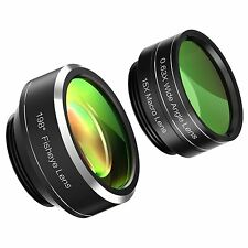 Mozeat 3 in 1 Clip-on Cell Phone Camera Lens - Imported