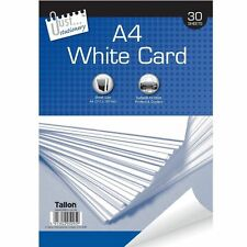 A4 White Card, 30 Sheet for printers & copiers-5095, 210x297mm