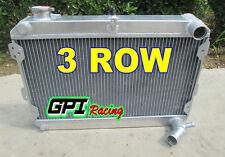 "3-ROW CORE ALUMINUM RACING RADIATOR+14/"" RED FAN 79-82 MAZDA RX-7//RX7 SA//FB S1 S2"