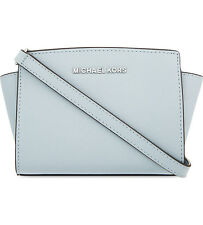 BNWT MICHAEL Michael Kors Mini Leather Messenger Bag Handbag