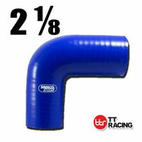 Silicone Turbo Air Pipe 90 Degree Elbow Radiator Coolant Hose 55mm 2.16""
