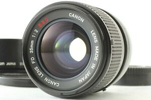 【NEAR MINT】Canon FD 35mm F/2 S.S.C SSC MF Wide Angle Lens from JAPAN