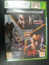 FIGHTING EDITION XBOX 360 NUOVO  TEKKEN 6 TEKKEN TAG TOURNAMENT 2 SOUL CALIBUR 5