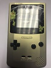 Nintendo Gameboy Color (CGB-001) Pokemon Gold & Silver Limited Edition NEW/MINT