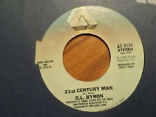 """ARISTA  45 7"""" RECORD/dl byron/21ST CENTURY MAN/DOWN IN THE BOONDOCKS/NR MNT 1980"""