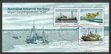 Australian Antarctic Territory-Wyatt Earp expedition min sheet 2020 -f.used cto