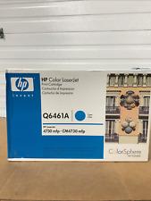 HP OEM Genuine Toner Q6461A Cyan 644A New in Sealed Box CM 4730