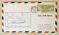 ORIGINAL- GRAF ZEPPELIN LZ-127 LEAVES CENTURY of PROGRESS - CHICAGO OCT 26,1933