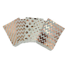 Disposable Food Bag Hot Rose Gold Birthday Party Creative Candy Gift Paper Bag