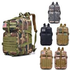 40L Military Tactical Backpack Waterproof Outdoor Sport Rucksack Hiking Treeking