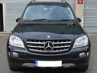 W164 ML Sports Bonnet Hood grille grill Black AMG MODELS WITH DISTRONIC