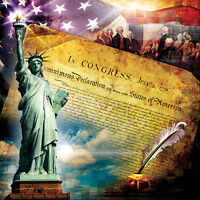 Jigsaw Puzzle American History The Declaration of Independence 1000 pieces NEW