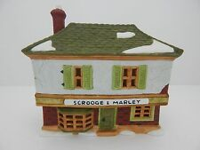 Dept 56 Dickens Village Scrooge & Marley Counting House #65001 Never Displayed