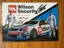 Signed Tander / Moffat 2017 GRM V8 Supercars Drivers Card