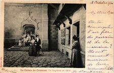 CPA PARIS EXPO 1900 - Le Palais du Costume. Un bapteme en 1830 (308565)