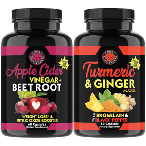 Weight Loss Apple Cider Vinegar + Beet Root & Turmeric + Ginger Maxx Pills