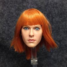"1/6 Head Sculpt KUMIK Milla Jovovich The Fifth Element fit 12"" female body"