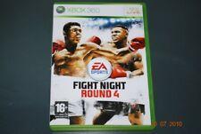 Fight Night Round 4 Xbox 360 UK PAL **FREE UK POSTAGE**