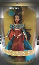 Barbie Disney Store COLLETOR Princess DOLL POCAHONTAS A. Indiens Collection Boîte d'origine jamais ouverte