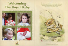 Antigua & Barbuda 2018 MNH Prince Louis Royal Baby William 4v M/S Royalty Stamps