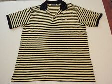 Augusta National Masters Collection Golf Shirt Men Extra Large (XL) Black Yellow