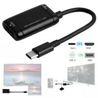 USB-C Type C to HDMI Converter Cable USB3.1 MHL Adapter For Android PhoneTablet