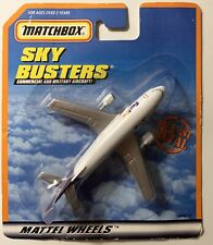 Matchbox FEDEX PLANE SkyBusters Commercial Military Aircraft 2000 MATTEL Wheels
