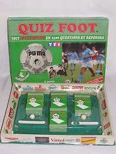 01D11 ANCIEN JEU DE SOCIETE FOOTBALL COLLECTOR QUIZ FOOT DIEGO MARADONA 1988 TF1