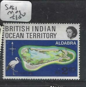 BRITISH INDIAN OCEAN TERRITORY  (P0105B)  QEII   MAP  SG 31  MOG