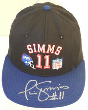 (SSG) PHIL SIMMS Signed Official NFL New York Giants Baseball Cap with a JSA COA