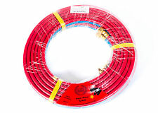 10 METER OXY LPG TWIN HOSE WITH BRASS FITTINGS OXY LPG *OLYMPIC*