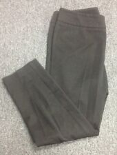CYNTHIA ROWLEY Black Stretchy Cotton Blend Ankle Length Casual Pant Sz 4 GG0070