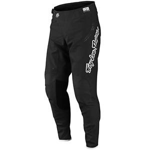Troy Lee Designs SE ULTRA Pants Tld Mx Motocross Dirt Bike Enduro Atv BLACK