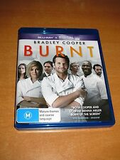 BURNT ( 2015 , BLU-RAY ) BRADLEY COOPER * LIKE NEW ! * ~ NO DIGITAL CODE ~