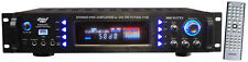 New Pyle P3201ATU 3000 Watts Hybrid Pre Amplifier w/ AM FM Tuner/ USB