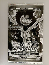 Dragon Ball Super Card Game Power Booster: Celebrations Promo Pack Bandai