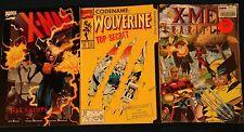 WOLVERINE Lot #50 Logan X-MEN RARITIES Xavier X-MAN ALL SAINTS DAY Marvel Comics