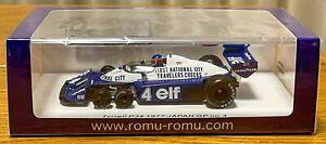 JPN LE | Spark 1:43 Tyrrell P34 Patrick Depailler F1 Japanese GP 1977 ROMU038