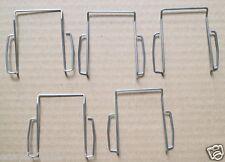 5x Silver Belt Clip For Sennheiser SK100 300 500 Microphone bodypack Transmitter