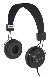 Dynavox HP-602 Stereo Headphones/Headphone (Black/Black)