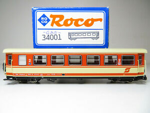 224HO - Roco 34001 HOe - Mariazellerbahn Personenwagen 2.Kl. ÖBB - Top in OVP