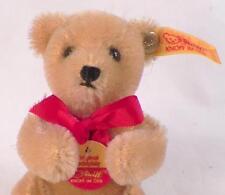 Steiff Teddy Bear Plush Animal w Button & Tag Germany 0210/12 Vintage Mini Small