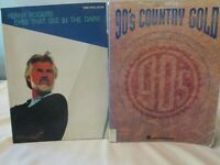 Kenny Rogers & 90's Country Gold Music Sheet Song Book  Guitar Piano Vocal  Hal