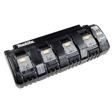 Makita - 18V 4 Port Lithium-ion Battery Charger