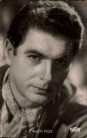 Film Kino Bühne TV Schauspieler RUDOLF PRACK ca. 1950/60 Foto-Porträt-AK